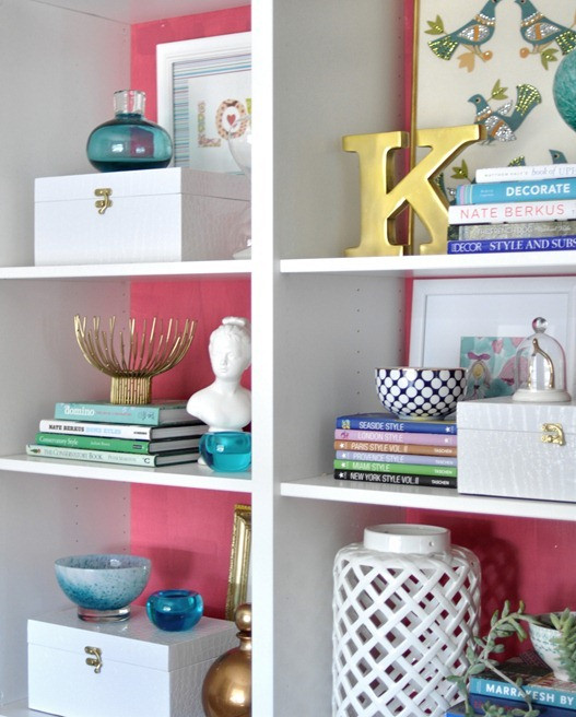 pink-and-white-bookcases
